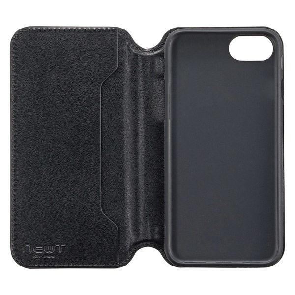 iphone8対応CAT FLIP黒