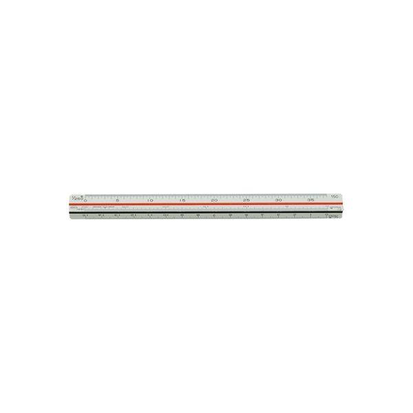 内田洋行 三角スケール 土地家屋用15cm 1-882-0402(直送品)