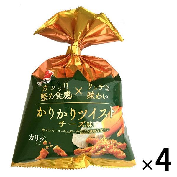 かりかりツイスト チーズ 4袋