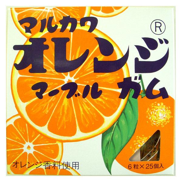 ビッグサイズオレンジガム6粒25個入1個