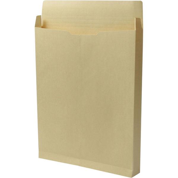 角0 クラフト保存袋 ハトメ紐なし BK0102N 1箱(100枚) イムラ封筒(直送品)
