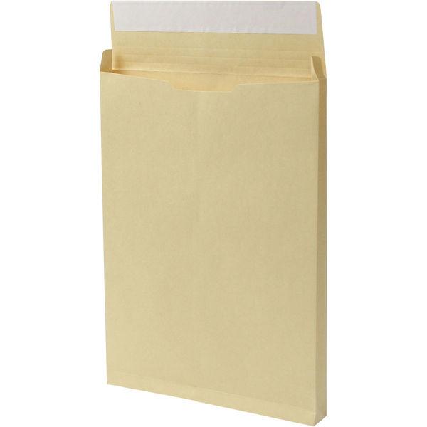 角2 クラフト保存袋 テープ付 マチ幅30mm BK21020P 1箱(100枚) イムラ封筒(直送品)