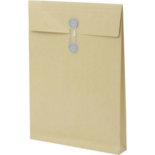 A4 クラフト保存袋 ハトメ紐付 BA4102 1箱(100枚) イムラ封筒(直送品)