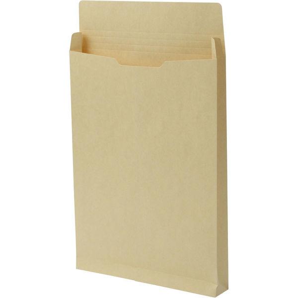 A4 クラフト保存袋 ハトメ紐なし BA4102N 1箱(100枚) イムラ封筒(直送品)