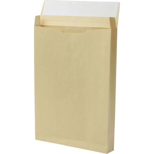 角1 クラフト保存袋 テープ付 マチ幅35mm BK11023P 1箱(100枚) イムラ封筒(直送品)
