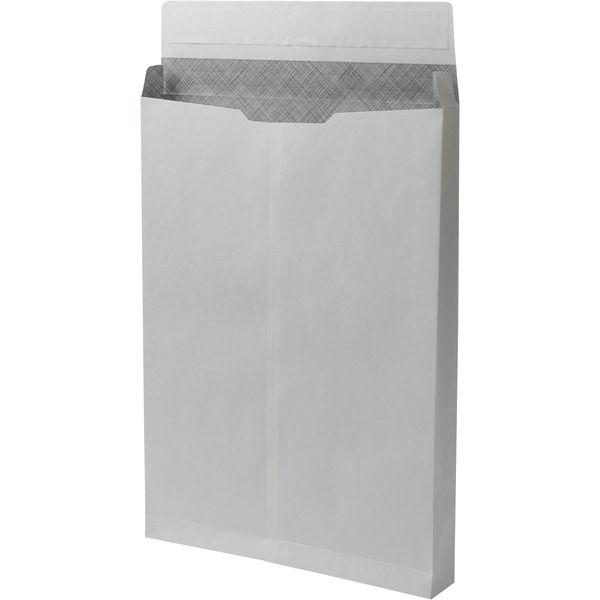 角2 ホワイト保存袋 内地紋付 テープ付 マチ幅35mm BK21J2P 1箱(100枚) イムラ封筒(直送品)