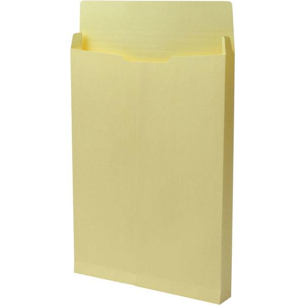 角2 カラークラフトクリーム保存袋 ハトメ紐なし BK2461N 1箱(100枚) イムラ封筒(直送品)