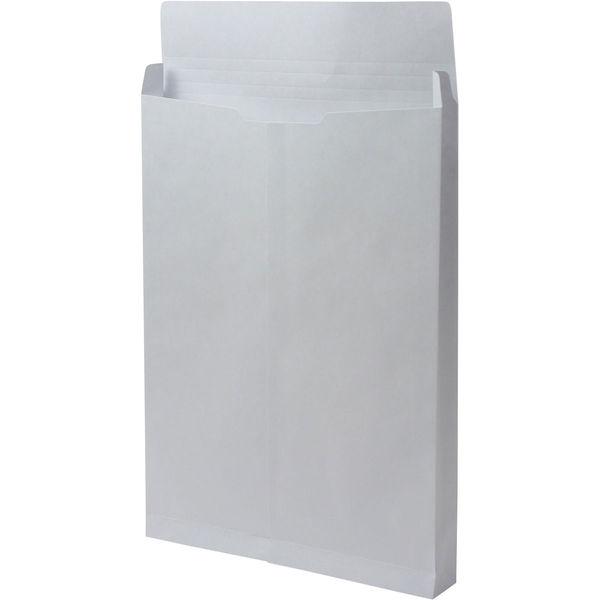 角2 カラークラフトスカイ保存袋 ハトメ紐なし BK2462N 1箱(100枚) イムラ封筒(直送品)
