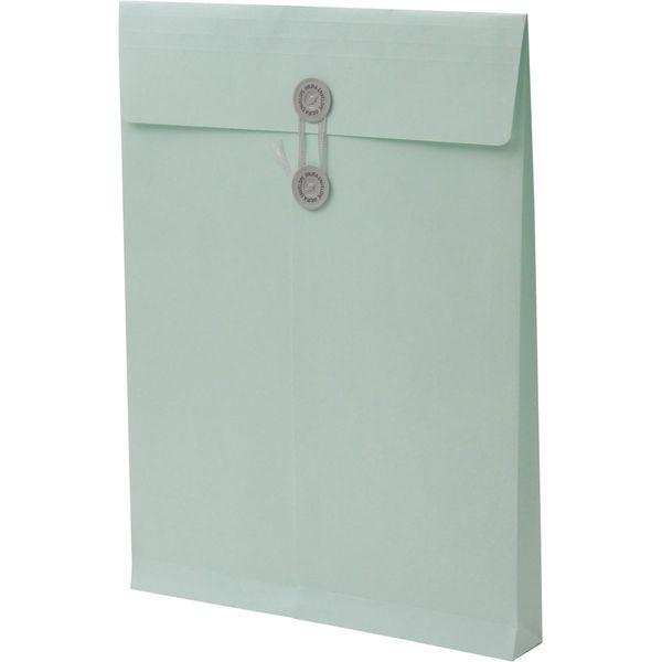 角2 カラークラフトミズ保存袋 ハトメ紐付 BK2468 1箱(100枚) イムラ封筒(直送品)