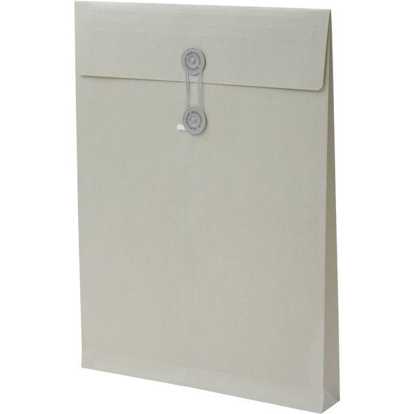 角2 カラークラフトシルバー保存袋 ハトメ紐付 BK2471 1箱(100枚) イムラ封筒(直送品)