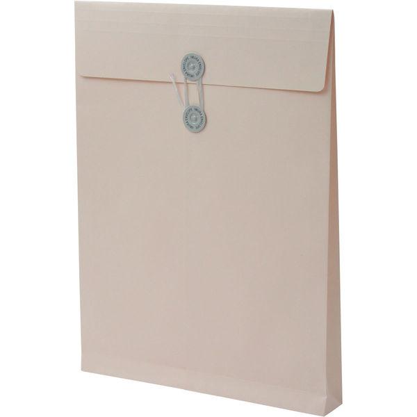 角2 ハーフトーンカラーピンク保存袋 ハトメ紐付 BK2572 1箱(100枚) イムラ封筒(直送品)