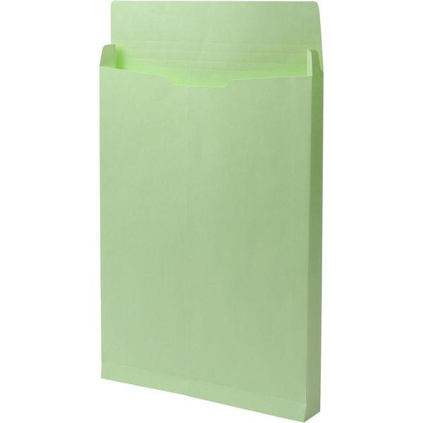 角2 カラークラフトウグイス保存袋 ハトメ紐なし BK2469N 1箱(100枚) イムラ封筒(直送品)