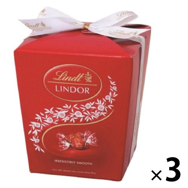 リンツ リンドール ミルクBOX 3個
