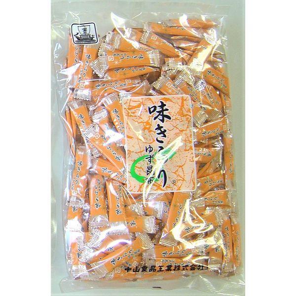 中山食品工業 味きらり/ゆず味昆布 4931863925017 1箱(24袋入)(直送品)