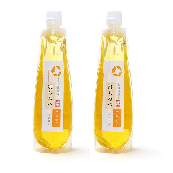 ほっとスペースこすもす らくらく蜂蜜(北海道産) アカシア 300g2本セット akasia2(直送品)