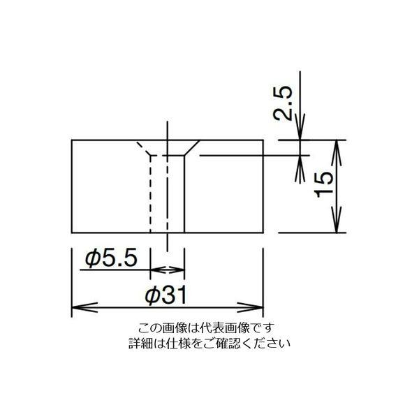 アスクル】IDEC(アイデック) 永久磁石 N極タイプ JS-M3 1セット(3個 ...
