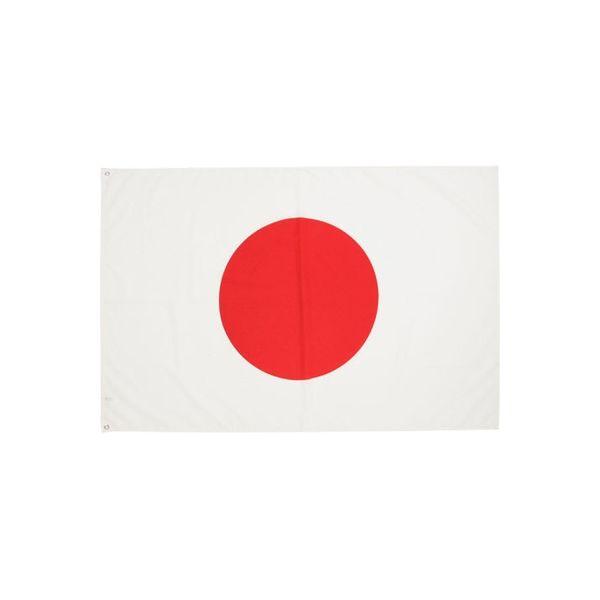 三上旗店 日の丸 100cmx150cm エクスラン(アクリル) _ 1枚(直送品)