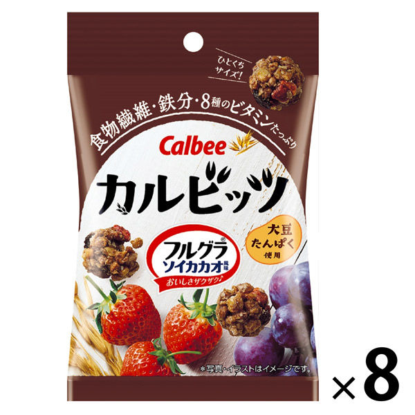 カルビッツフルグラ ソイカカオ風味 8袋