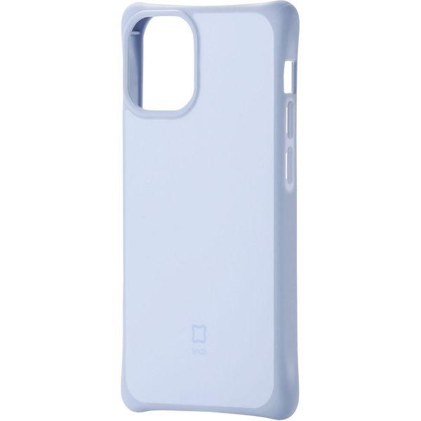 iPhone12mini ケースカバー 耐衝撃 スリム TPU 持ちやすい ホールド感アップ ブルー PM-A20AHVHH1BU エレコム 1個(直送品)