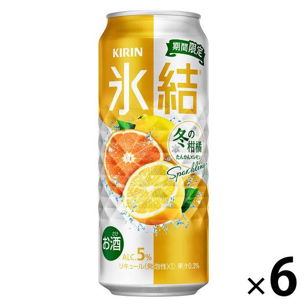 氷結 冬の柑橘SP 500ml×6