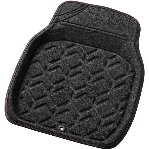 BONFORM(ボンフォーム) バケットマット 3Dジオガード フロント1枚 48×62cm レッド 6459-01RE 1個(直送品)