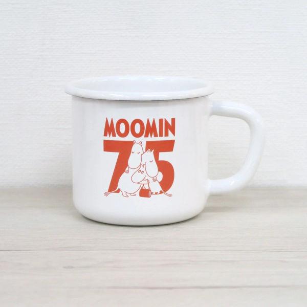 ムーミン 75周年 8cm マグ レッド