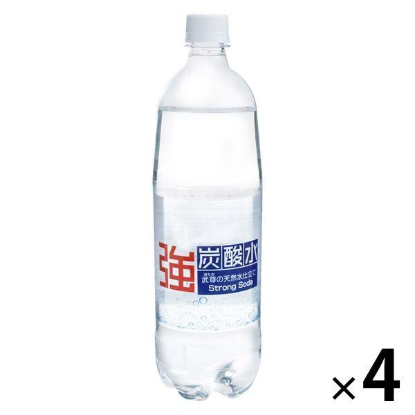 ニチネン 強炭酸水 1L 4本