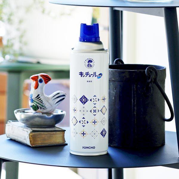 【ロハコ先行発売】水性キンチョール無臭性450mL オリジナルデザイン缶 1個 大日本除虫菊(金鳥)