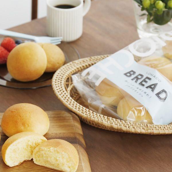 LOHACO BREAD 卵とバターの風味を味わうプチブリオッシュ6個入×1袋 ロハコブレッド パン