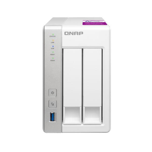 QNAP TSー231P2 単体モデル メモリー 4GB TS-231P2 1台(直送品)