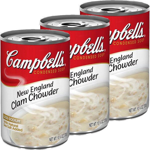 キャンベル NEクラムチャウダー 3缶