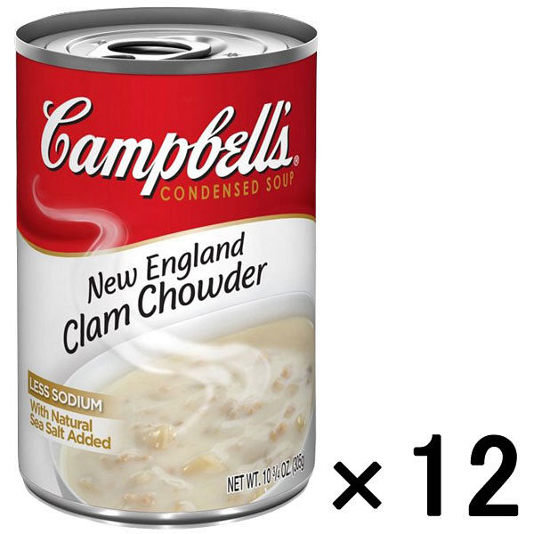 キャンベルNEクラムチャウダー 12缶