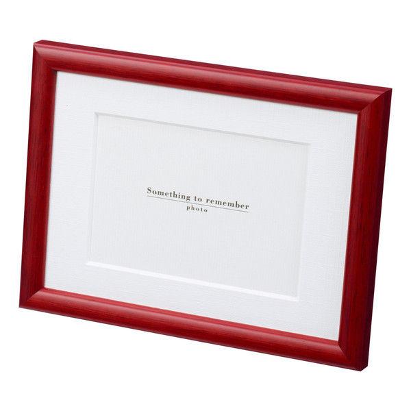 サクラクレパス 木製フレームK(2L)判サイズ 赤 SL-R-K(直送品)
