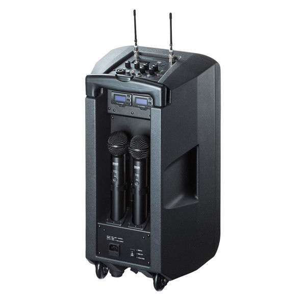 サンワサプライ ワイヤレスマイク付き拡声器スピーカー MM-SPAMP8 1個 (直送品)