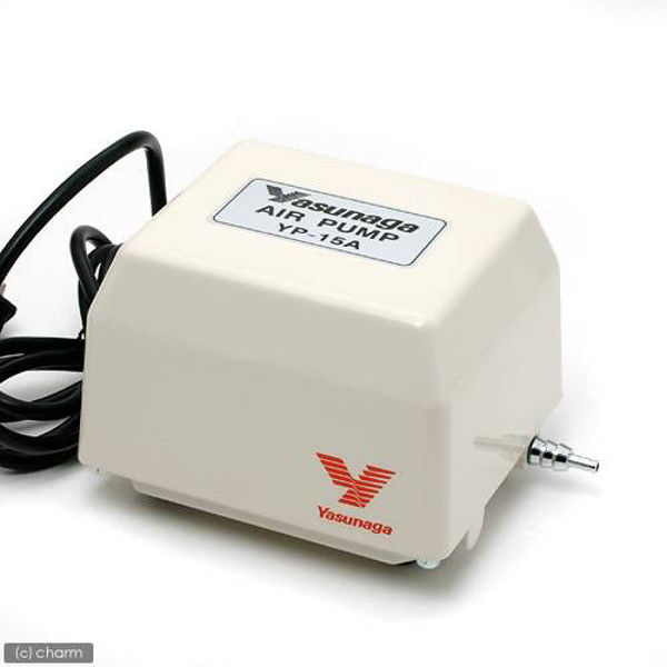 Yasunaga(ヤスナガ) 安永電磁式エアーポンプ ブロワー 120cm以上水槽用エアーポンプ 51501 1個(直送品)