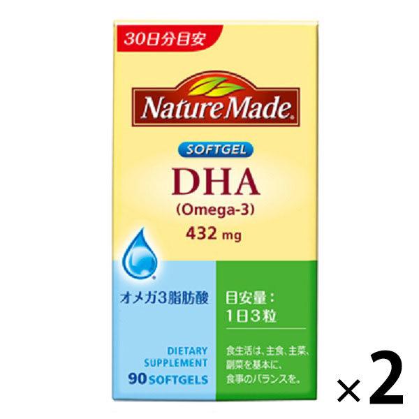 ネイチャーメイド DHA 90粒
