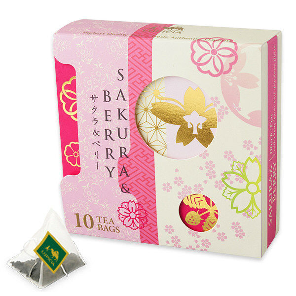 ルピシア SAKURA & BERRY ティーバッグ 限定デザインBOX 1個(10バッグ)