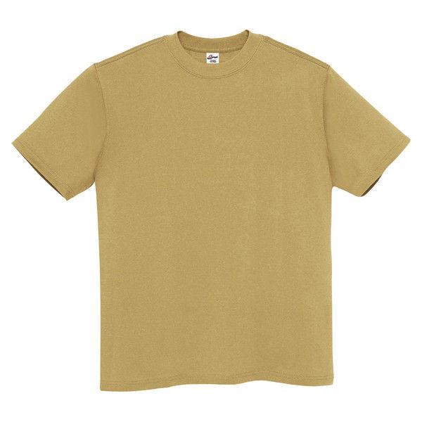 b15ba18c7dd94 アスクル アイトス Tシャツ(男女兼用) MT180 サファリ 3L 1袋(10枚組 ...