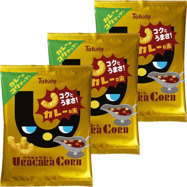 ウラキャラコーン カレー味 3袋