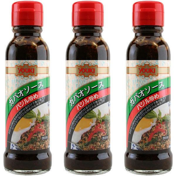 ガパオソース(バジル炒め) 145g3本