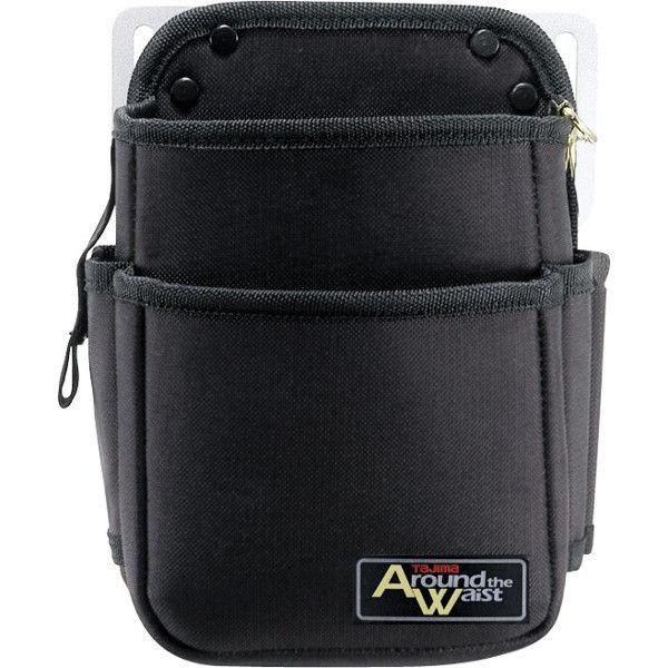 アラウンド ザ ウエスト 電工腰袋(2段・小) AW-DE2S 1箱(6個入) TJMデザイン (直送品)