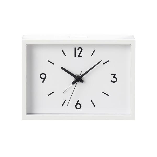 無印良品 駅の時計・アラームクロック・アイボリー