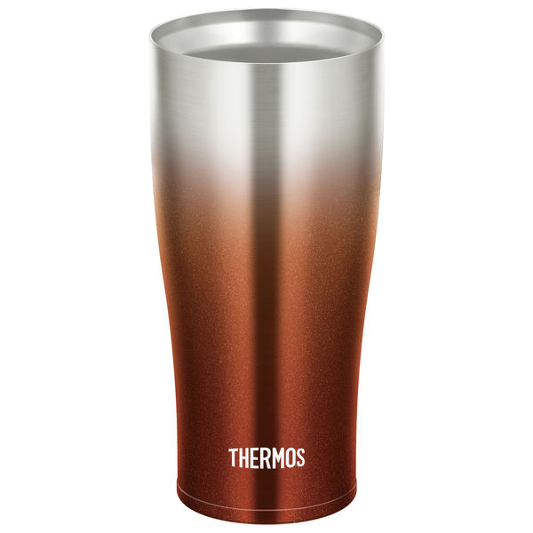 真空断熱タンブラー 420ml ブラウン