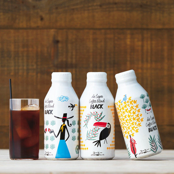 ダラゴア農園ブレンド ブラックコーヒー ボトル缶 375g 1セット(6缶)
