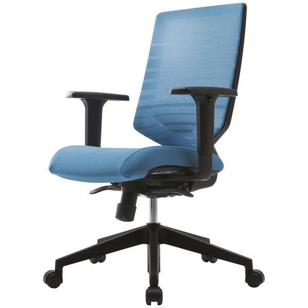 Sidiz T30チェア オフィスチェア 可動肘付 ブルー FHTN302RF007 1脚