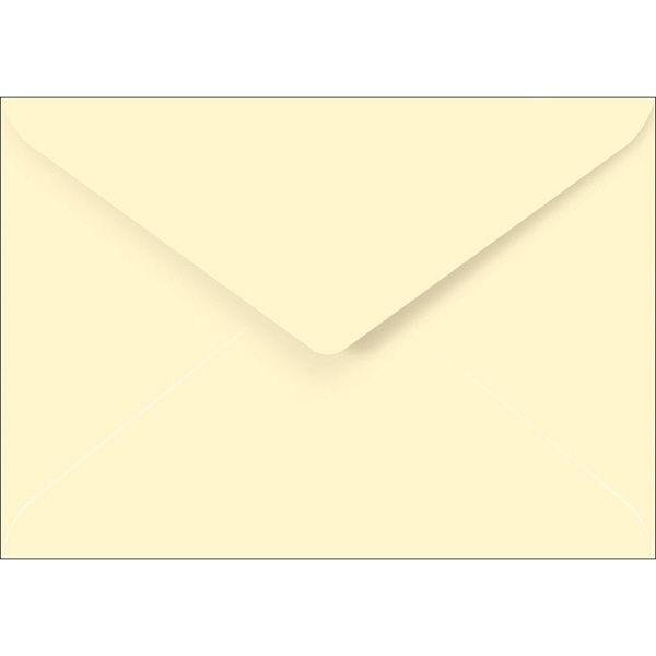 ササガワ 洋2封筒(ダイヤ貼り) Paletta バニラ 16-2003 75枚(15枚袋入×5冊)(取寄品)