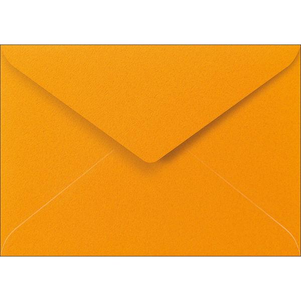 ササガワ 洋2封筒(ダイヤ貼り) Paletta マンダリンオレンジ 16-2023 40枚(8枚袋入×5冊)(取寄品)