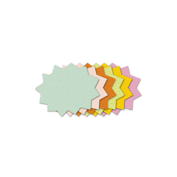 ササガワ ぷちカード バクハツ 中 16-7022 60枚(12枚:6色各2枚袋入×5冊)(取寄品)