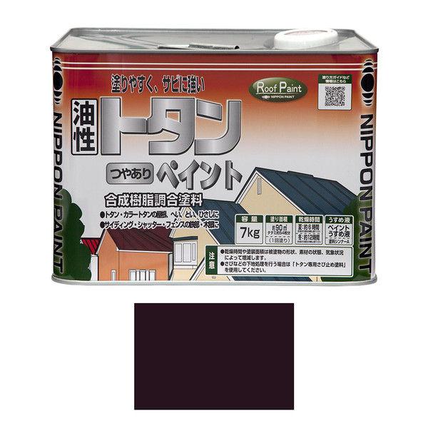 ニッペホームプロダクツ トタンつやありペイント 7kg コーヒーブラウン 4976124184727 (直送品)