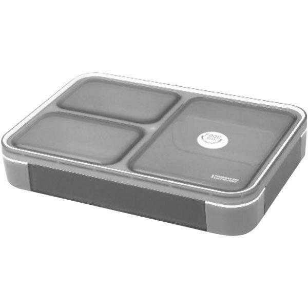 薄型弁当箱フードマン 600ml グレー
